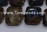 CNG7482 15.5 inches 18*25mm - 20*28mm faceted freeform pietersite beads