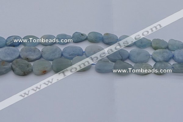 CNG7574 15.5 inches 10*14mm - 13*18mm freeform aquamarine beads
