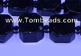 CNG7606 15.5 inches 12*14mm - 15*16mm freeform black tourmaline beads