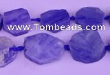 CNG7613 15.5 inches 12*12mm - 15*16mm freeform kyanite beads