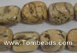 CNG775 15.5 inches 13*18mm nuggets feldspar jasper beads wholesale