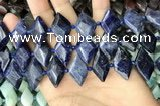 CNG7878 15.5 inches 13*20mm - 15*25mm faceted freeform sodalite beads