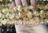 CNG7899 15.5 inches 10*14mm - 13*18mm faceted nuggets citrine beads