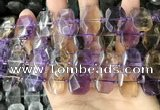 CNG7919 15.5 inches 13*18mm - 15*25mm faceted freeform ametrine beads