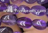 CNG8004 15.5 inches 6*8mm nuggets amethyst beads wholesale