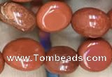 CNG8023 15.5 inches 6*8mm nuggets red jasper beads wholesale