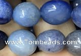 CNG8044 15.5 inches 8*10mm nuggets blue aventurine beads