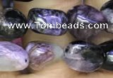 CNG8045 15.5 inches 8*10mm nuggets charoite beads wholesale
