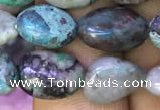 CNG8046 15.5 inches 8*10mm nuggets chrysocolla beads wholesale