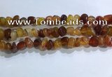 CNG8102 15.5 inches 6*8mm - 10*12mm agate gemstone chips beads