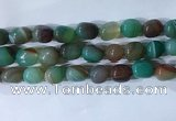 CNG8192 15.5 inches 10*14mm nuggets striped agate beads wholesale