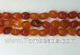 CNG8208 15.5 inches 12*16mm nuggets agate beads wholesale