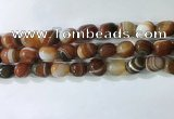 CNG8238 15.5 inches 12*16mm nuggets striped agate beads wholesale