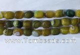 CNG8276 15.5 inches 13*18mm nuggets striped agate beads wholesale