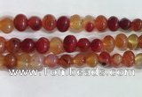CNG8332 15.5 inches 10*12mm nuggets agate beads wholesale