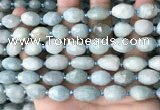 CNG8510 15.5 inches 10*12mm - 11*15mm faceted nuggets aquamarine beads