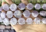 CNG8655 15.5 inches 10mm - 20mm freeform lavender amethyst beads