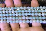 CNG8710 15.5 inches 6mm faceted nuggets amazonite gemstone beads