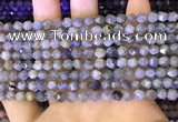 CNG8715 15.5 inches 6mm faceted nuggets labradorite gemstone beads