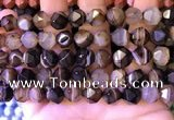 CNG8722 15.5 inches 10mm faceted nuggets agate gemstone beads