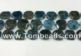 CNG8821 15.5 inches 16mm - 20mm faceted freeform apatite beads