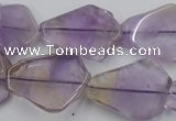 CNG890 15.5 inches 15*20mm � 20*30mm freeform ametrine beads