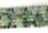 CNG9079 15.5 inches 8mm faceted nuggets jade gemstone beads