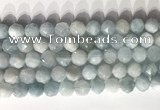 CNG9086 15.5 inches 10mm faceted nuggets aquamarine gemstone beads