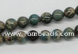 CNI03 16 inches 8mm round natural imperial jasper beads wholesale