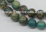 CNI04 16 inches 10mm round natural imperial jasper beads wholesale