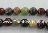 CNI302 15.5 inches 8mm round imperial jasper beads wholesale