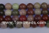 CNI350 15.5 inches 4mm round imperial jasper beads wholesale