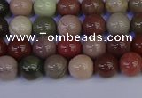 CNI351 15.5 inches 6mm round imperial jasper beads wholesale