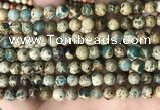 CNI401 15.5 inches 6mm round blue impression jasper beads