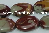 CNJ07 15.5 inches 18*25mm oval natural noreena jasper beads