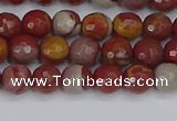 CNJ309 15.5 inches 6mm faceted round noreena jasper beads