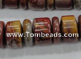 CNJ31 15.5 inches 6*18mm & 12*18mm rondelle noreena jasper beads