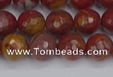 CNJ311 15.5 inches 10mm faceted round noreena jasper beads