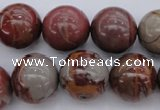 CNJ57 15.5 inches 16mm round noreena jasper beads wholesale