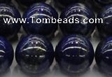 CNL1005 15.5 inches 14mm round B grade natural lapis lazuli beads