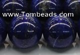 CNL1008 15.5 inches 20mm round A grade natural lapis lazuli beads
