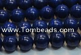 CNL1054 15.5 inches 7.5mm - 8mm round A+ grade natural lapis lazuli beads