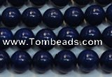 CNL1056 15.5 inches 7.5mm - 8mm round AAA grade natural lapis lazuli beads