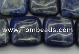 CNL1130 15.5 inches 18*18mm square lapis lazuli gemstone beads