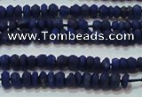 CNL1200 15.5 inches 1.5*2mm faceted rondelle natural lapis lazuli beads
