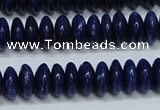 CNL1262 15.5 inches 4*10mm rondelle natural lapis lazuli beads