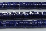 CNL1266 15.5 inches 4*7mm tyre natural lapis lazuli beads