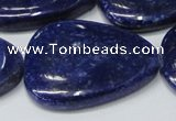 CNL1300 15.5 inches 25*35mm - 35*45mm freeform natural lapis lazuli beads