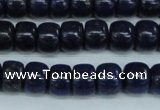 CNL1505 15.5 inches 6*9mm drum lapis lazuli beads wholesale