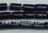 CNL1509 15.5 inches 6*10mm tube lapis lazuli beads wholesale